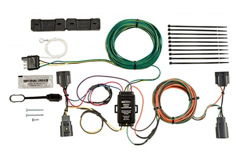 towing solutions 56200 jeep towed vehicle wiring kit