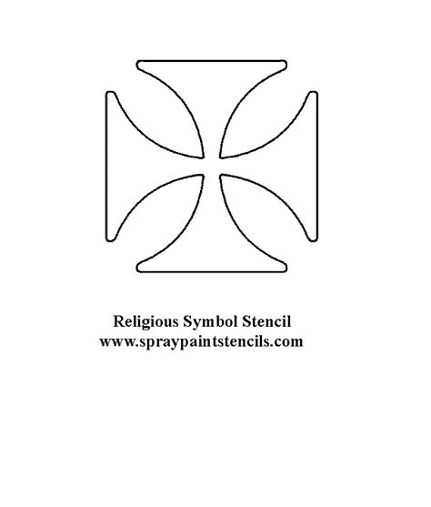 printable iron cross stencil image gallery iron cross stencil