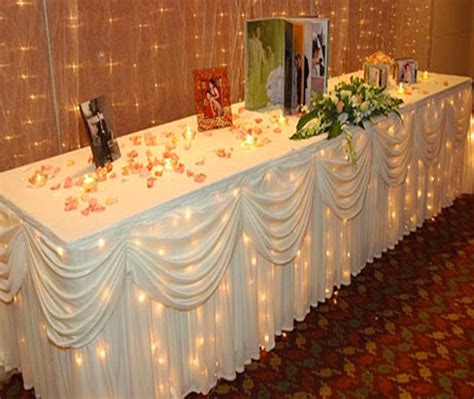 best table covers for wedding photos 2017 blue maize