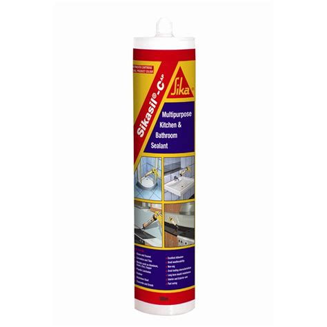 Silicone Sealant Colour sika 300ml sikasil cap beige sanitary silicone sealant bunnings warehouse