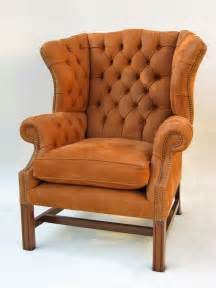 chippendale chair chippendale leather wingback and
