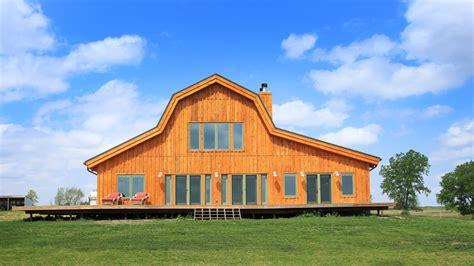 gambrel barn homes barn wood home great plains gambrel barn home project dti1011 photo gallery