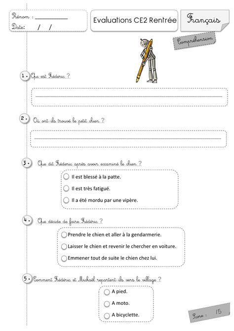Evaluation D Anglais Ce2 Gs02 Jornalagora
