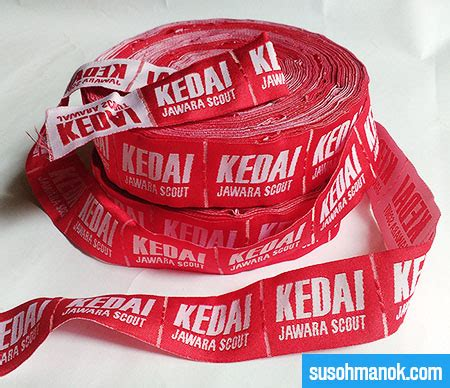 Jasa Buat Label Pita Harga Bersahabat jasa pembuatan label baju di jambi bagus terpercaya