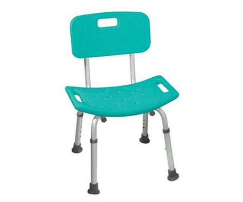 safety bench safety bath bench with back color blue