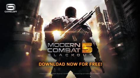 Model Combat 5 gameloft s modern combat 5 blackout update brings new