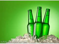 Collection of bottle of beer in ice cold drink ice cube ... J 112