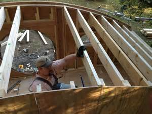 How To Construct A House by How To Build A Hobbit House Building Process And House