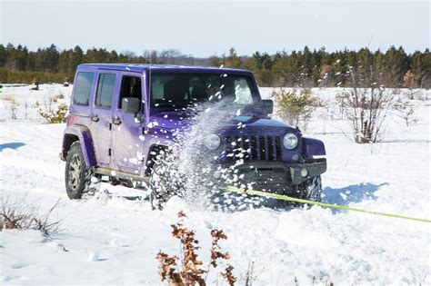 jeep wrangler in snow 2016 jeep wrangler unlimited backcountry 4x4 review