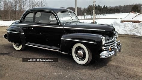 Ford Deluxe by 1947 Ford Deluxe Coupe Flathead V8