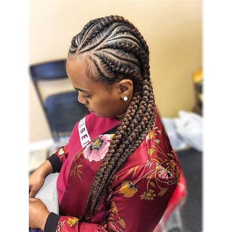 Braided To The Scalp Hairstyles For Black People | cool 30 cornrow hairstyles for different occasions get