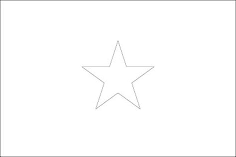 Somalia Flag Flag Of Somalia Somalia Flag Coloring Page