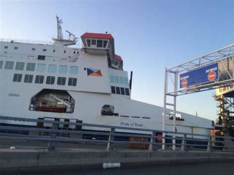 Car Rental Calais Ferry Port by Pride Of Kent Picture Of P O Ferries Dover Calais