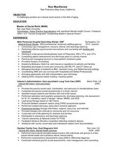 Primary Mental Health Worker Cover Letter by Mental Health Counselor Resume Counseling Intern Resume Sle Counselor Resume Sle 2016