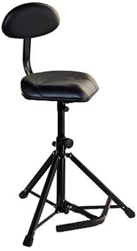 Folding Bass Stool by K M Folding Tripod Stool With Optional Backrest And