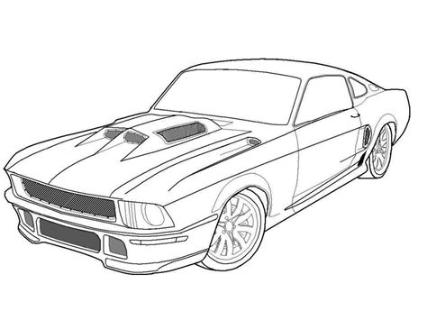 free coloring pages of mustang cars free printable mustang coloring pages for kids