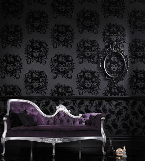 dark wallpaper bedroom decor dark and decadent wallpaper tastefully gothic