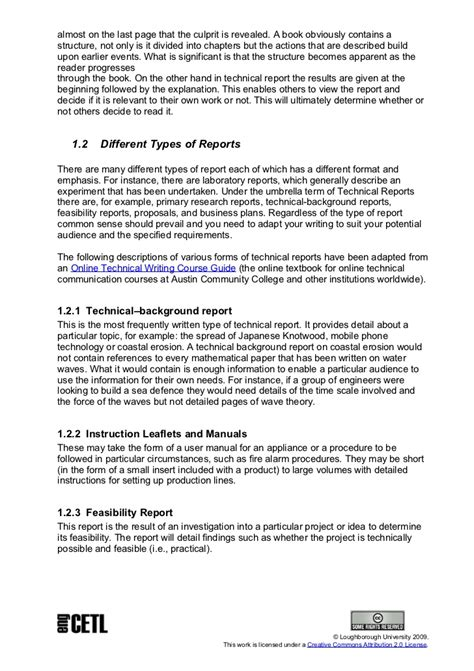 Technical Report Writing Letter Format Technical Report Writing
