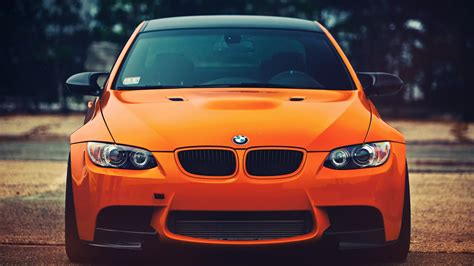 bright orange cars bright orange car bmw wallpapers and images wallpapers