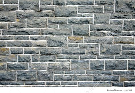 Texture: Gray Stone Wall Background.   Stock Image