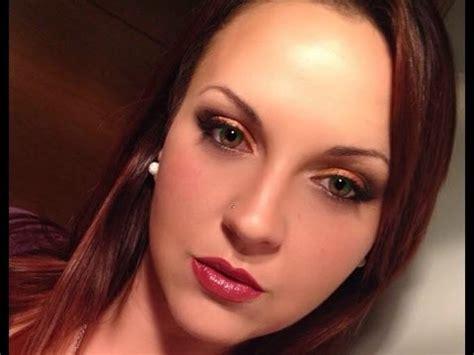 tutorial youtube maquillaje tutorial maquillaje ahumado naranja maquillaje de