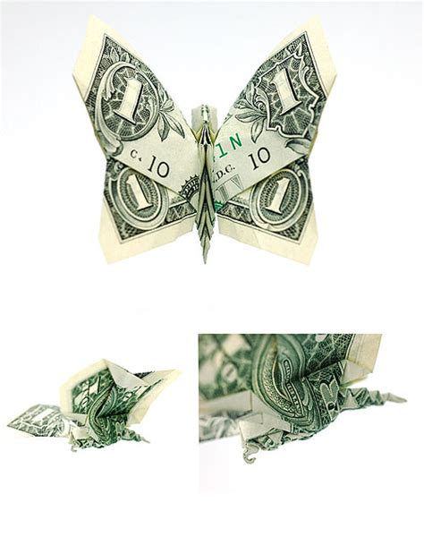 How To Make Origami With A Dollar Bill - 40 excellent exles of dollar bill origami 1