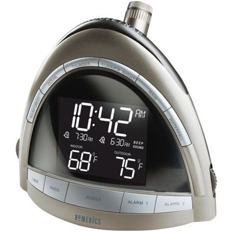 homedics ss 5010 soundspa premier am fm clock radio keeping the time radios the