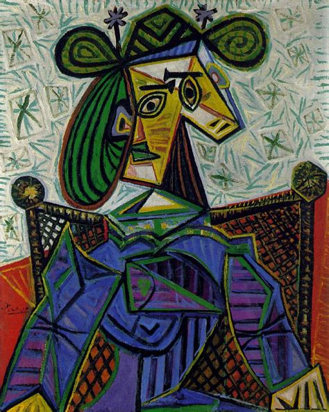 picasso woman in an armchair picasso woman sitting in an armchair