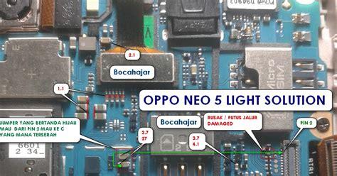 Lcd Oppo 1201 oppo neo 5 1201 light solution free tutorial