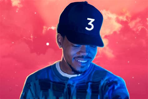 coloring book chance the rapper chance the rapper s has made his 3 new era cap an