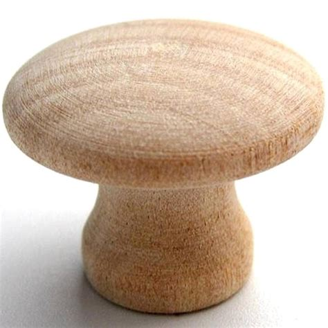 Wood Furniture Knobs by Brainerd 1 25 Inch Unfinished Wood Cabinet Knob 6300