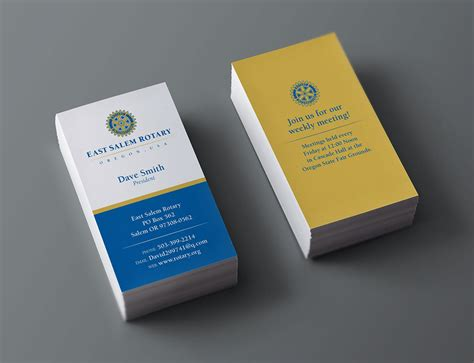 rotary card template business cards salem oregon images business card template