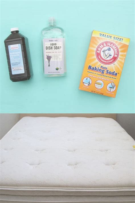 clean mattress stains  minute magic green
