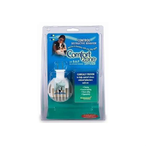 comfort pet certification comfort zone with d a p for dogs plugin 48 ml