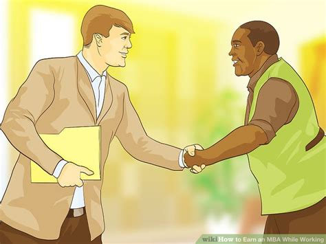 Earn An Mba While Working by How To Earn An Mba While Working With Pictures Wikihow