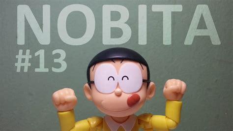 Mainan Figure Doraemon Celengan Topi A review 13 shf nobi nobita figure