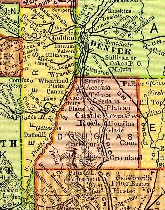 Douglas County Colorado Records Douglas County Colorado Genealogy Census Vital Records