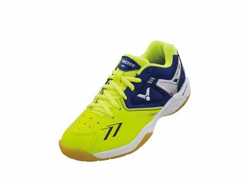 Sepatu Badminton Junior sh 80 junior e sepatu produk victor indonesia