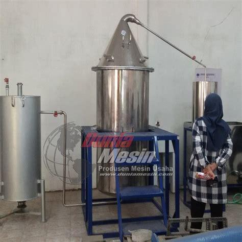 jual mesin penyuling minyak mesin destilasi minyak