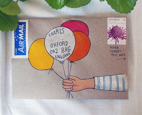 Decoration Enveloppe by 25 Best Ideas About Envelope On Mail