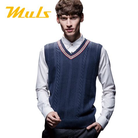 diamond pattern sleeveless jumper cricket sweater men style 2015 muls brand casual 4xl