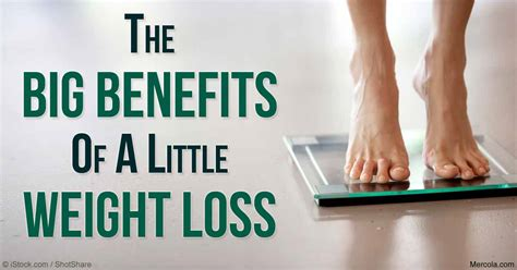 5 weight loss benefits small weight reduction bigger health benefits