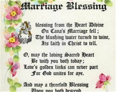 Wedding Blessing Phrases by Wedding Blessings Quotes Like Success
