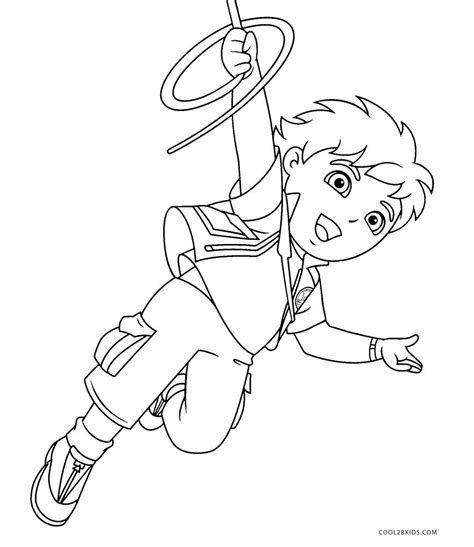 coloring pages free printable diego coloring pages for cool2bkids