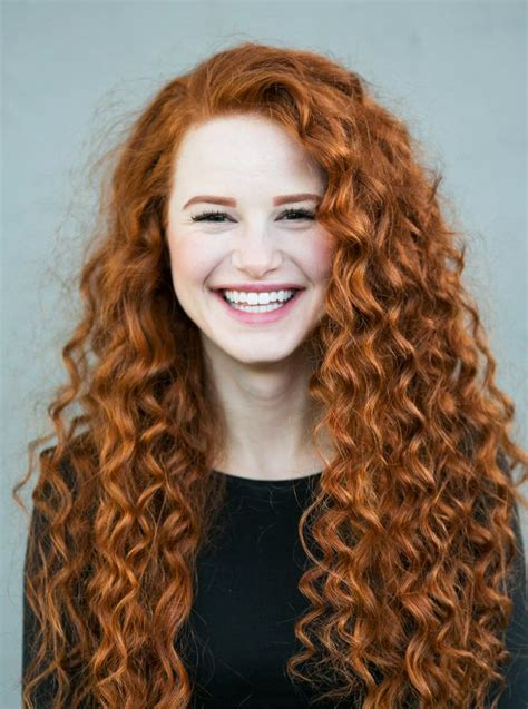 actress with red curly hair madelaine petsch curly red hair new book 09 las