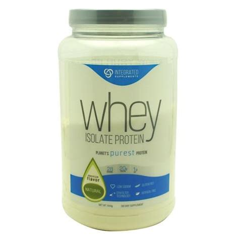 Suplemen Whey Isolate integrated supplements whey isolate protein nutrition zone