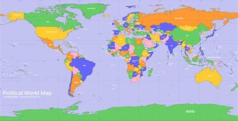 world map political hd image 20 free and premium vector world maps designmodo