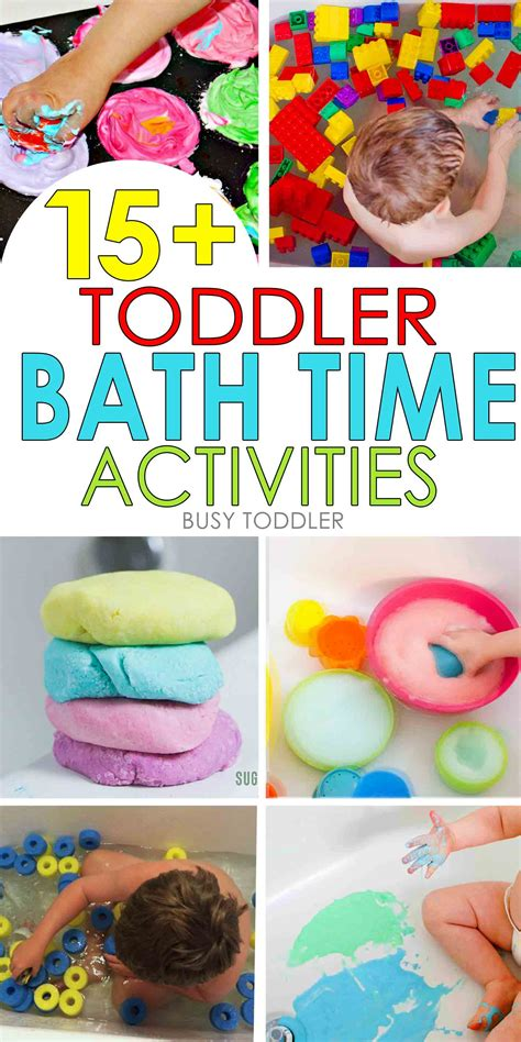 15 toddler bath time activities busy toddler