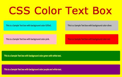 how to change the background color of a textbox in css