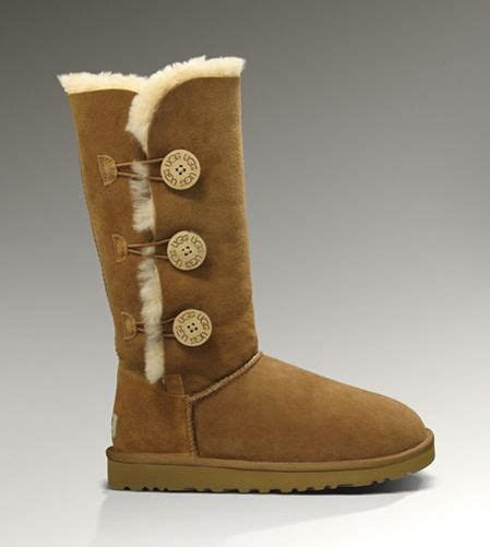 12 Coolest Ugg Boots On Sale by Ugg Bailey Button Triplet 1873 Chestnut 1873 102 89